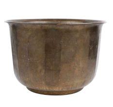 Brass Pot Planter Fluted Design Home Decoration