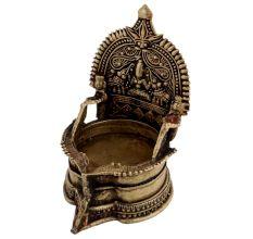 Devi Kaja Lakshmi Brass OilFestival Lamp