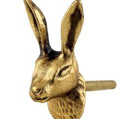 Golden Rabbit Metal Cabinet Knobs