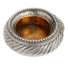 Tribal Hand made Brass Ashtray Spirally Carved Design