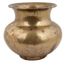 Golden Brass Holy Water Pot