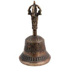 Brass Vajra Bell And Dorje Prayer Bell Vajra