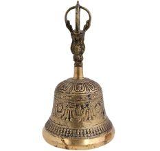 Handmade Tibetan Brass Bell For Meditation