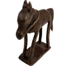 Handmade Tribal Décor Racing Horse Statue