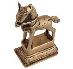 Rare Handmade Elongated Standing Horse Statue