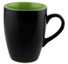 Handcraft Decorative Ceramic Black & Green Coffee Mug