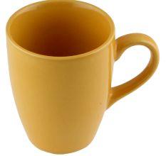 Handcraft Decorative Ceramic Yellow Coffee Mug