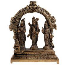 Brass Ram Darbar Idol Puja Worship Statue