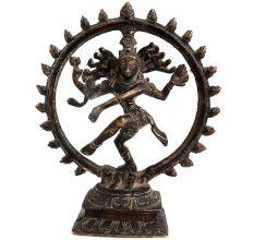 Brass Dancing Natraja Statue For Decoration