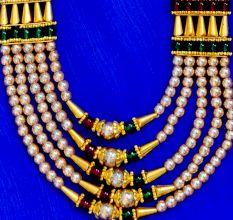 Allure Fusion Handicraft Necklace Set