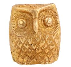 Brass Owl Shaped Paper Weight