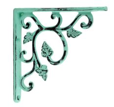 Antique Sage Green Small Shelves Brackets