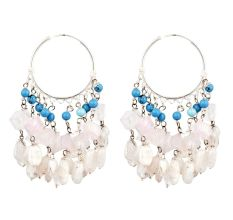 Ethnic Stylish Trendy Sterling Silver Chandelier Earring