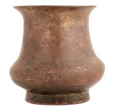 Brass South Indian Round Base Water Pot