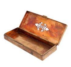 Long Rectangular Vintage Brass Letter Box