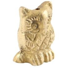 Brass Owl Decorative Incense Holder Paper weight