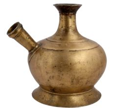 Indian Brass Mughal Hookah pot