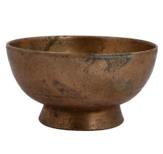 Indian Small Brass Serving Bowl Or Dish