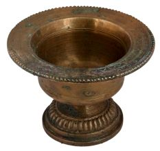 Handcrafted Brass Spittoon