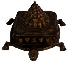 Brass Turtle With Yantra Fenshui Gift