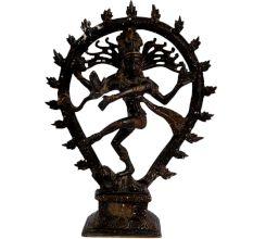 Brass Nataraja Dancing Shiva Statue For Gifting