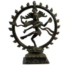 Brass Shiva Statue King Of Dance Gift And Decoration
