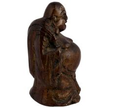 Brass Standing Buddha Statue For Wealth And Happiness
