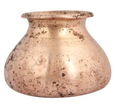 Brass Water Pot With Heavy Bottom For Worship