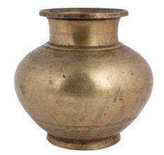 Handmade Spiritual Brass Holy Water Pot