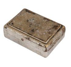 Brass Rectangular Trinket Box