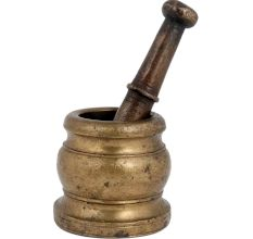 Brass Mortar And Pestle For Home And Kitchen