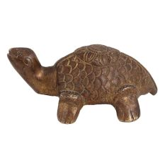 Brass Tortoise Carved For Home Decoration Statue