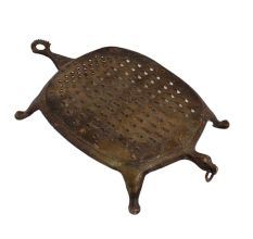 Traditional Brass Grater For Indian Kitchen