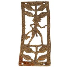 Unconventional Rectangular Brass Metal Decor Ideas Inspired By Hunters