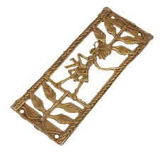 Elegant And Classy Brass Metal Decor Artwork Inspired By Nature