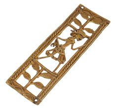 Lightweight And Durable Brass Metal Decor Artwork For Your Home