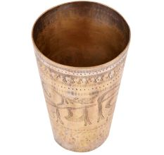 Brass Jai Hind Lassi Glass