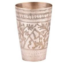 Jai Hind Brass Lassi Serving Punjabi Glass