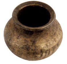 Handmade Blackened Brass Water Pot