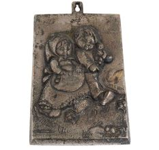 Plate In English Art Wall Hanging