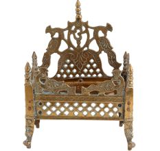 Krishna Bed with Jalli Work With Intricate Carving